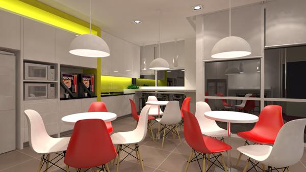 Modern Kitchen Work Table